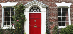 House with Red Door - Building Surveys